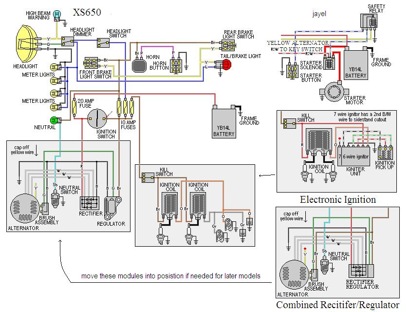 1977 yamaha xs 750 wiring diagram - 1996 gmc fuse box diagram for wiring  diagram schematics  wiring diagram and schematics