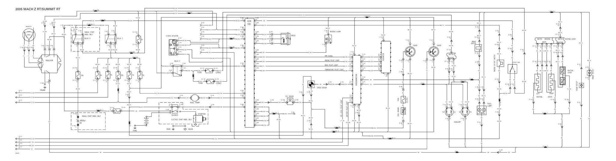 Wiring Diagram 1999 670 Skidoo