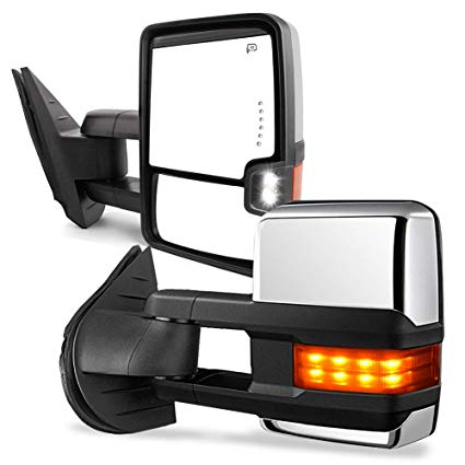 Stupendous Amazon Com Yitamotor Towing Mirrors Compatible For Chevy Gmc Power Wiring Cloud Ostrrenstrafr09Org