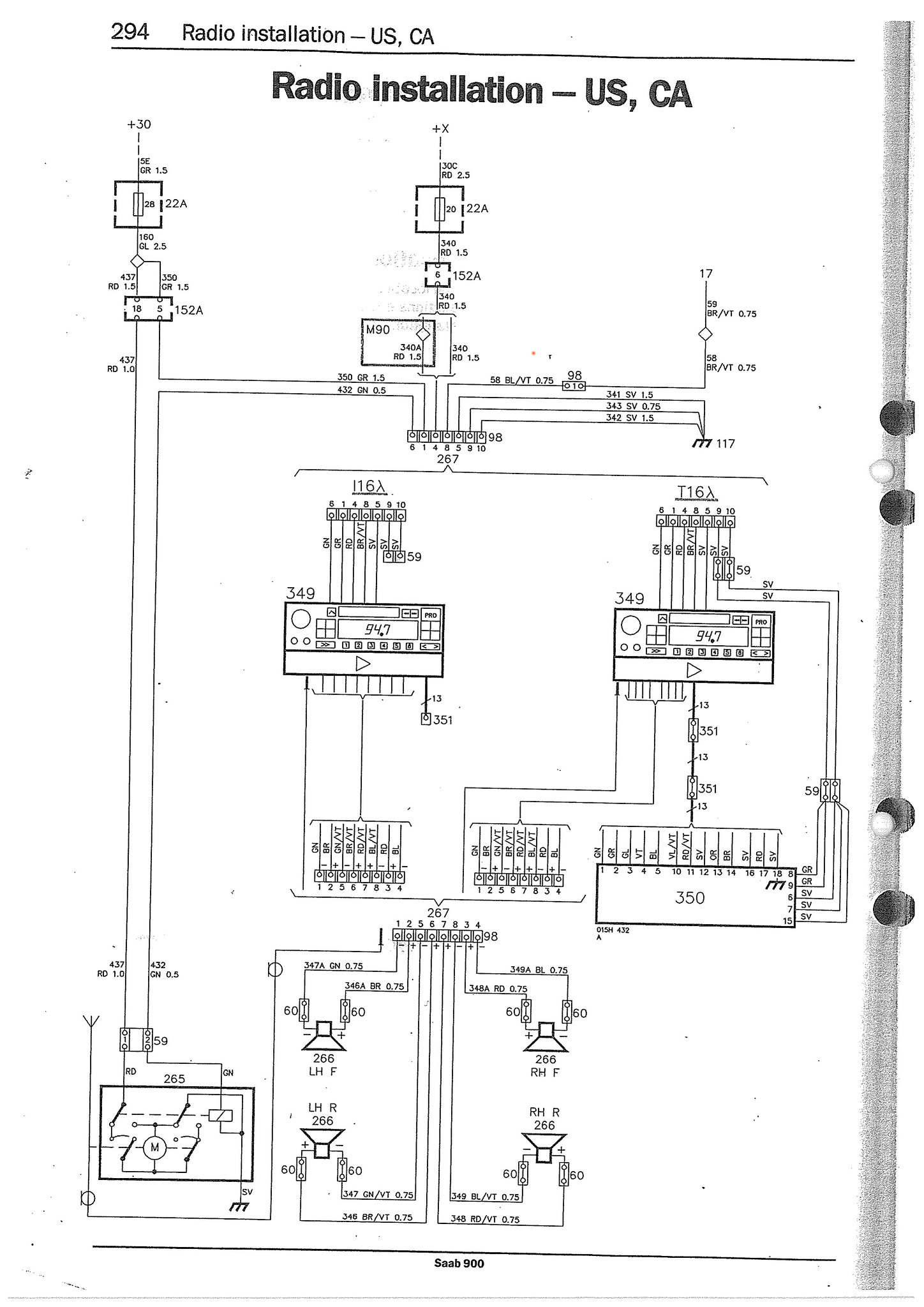 1998 saab 900 wiring diagram el 9379  1996 saab wiring diagram  el 9379  1996 saab wiring diagram
