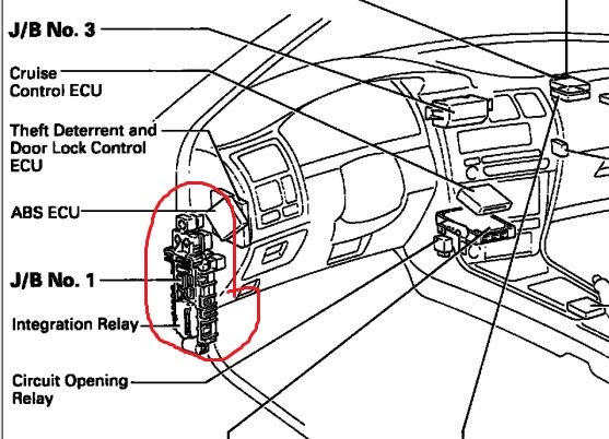 2007 Toyota Corolla Tail Light Wiring Diagram