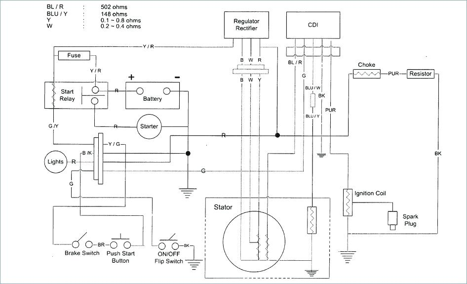 Wiring Diagram For Peace 110cc Atv