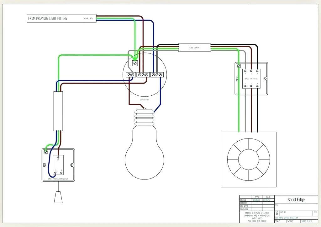 Broan Exhaust Fan Wiring Diagram