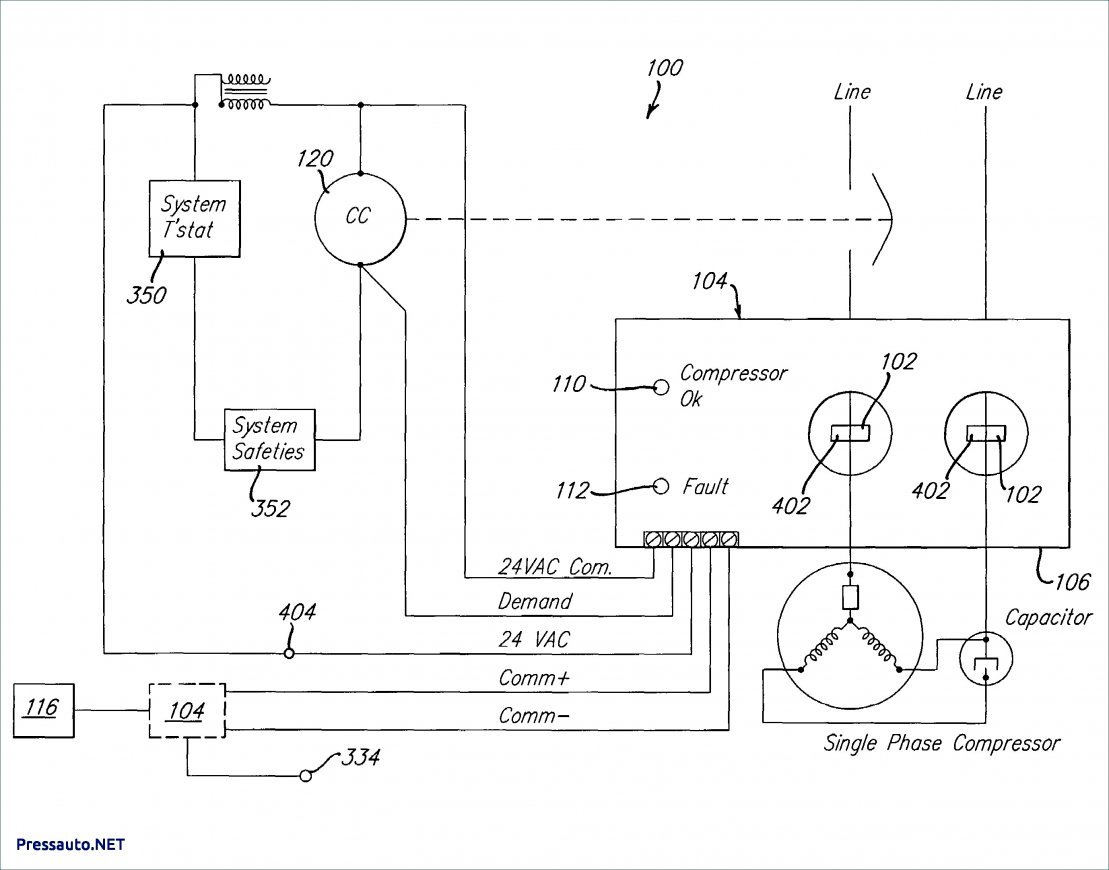 Wiring Diagram Refrigerator Compressor Whirlpool