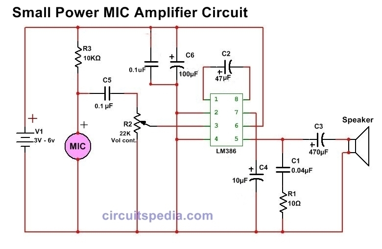 5532 ic mic preamplifire circuit wb 9003  pin electret microphone amplifier circuit schematic on  pin electret microphone amplifier