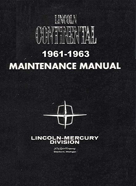Swell Amazon Com Bishko Automotive Literature 1961 1962 1963 Lincoln Wiring Cloud Cranvenetmohammedshrineorg