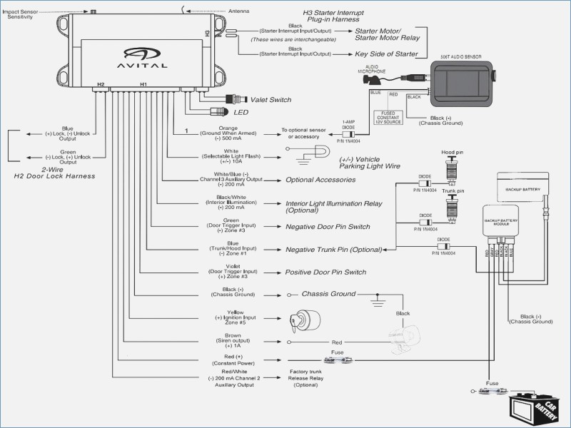 Directed Remote Start Wiring Diagram