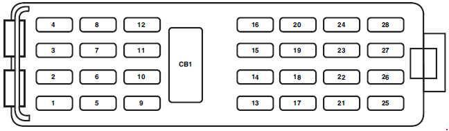 Xs 2957 07 Ford Taurus Fuse Box Diagram Free Diagram