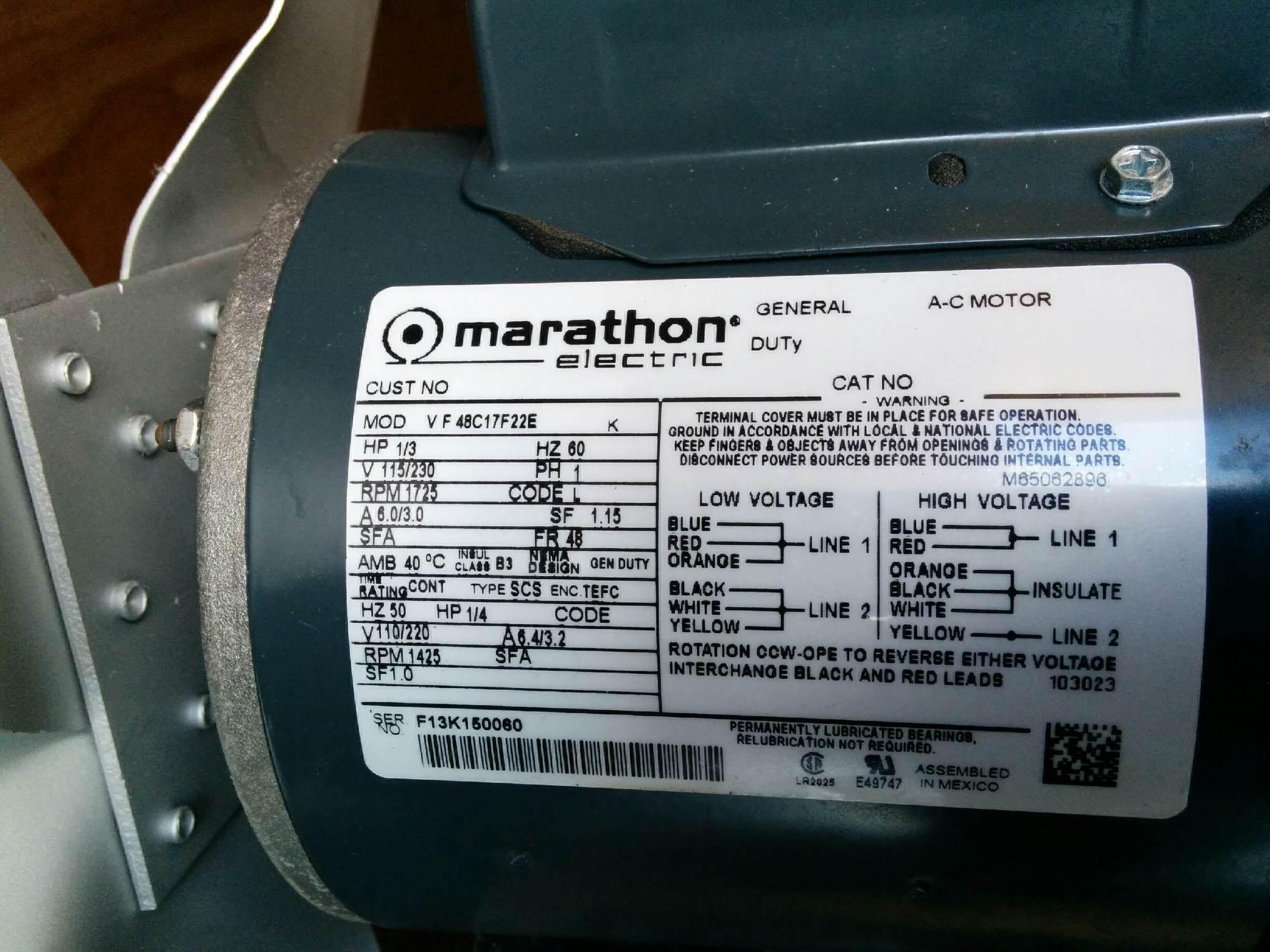 Mx 9812 Marathon Electric 3 Phase Motor Wiring Diagram Wiring Diagram