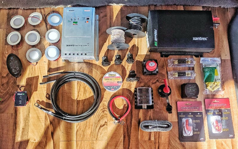Magnificent Epic Guide To Diy Van Build Electrical How To Install A Campervan Wiring Cloud Vieworaidewilluminateatxorg