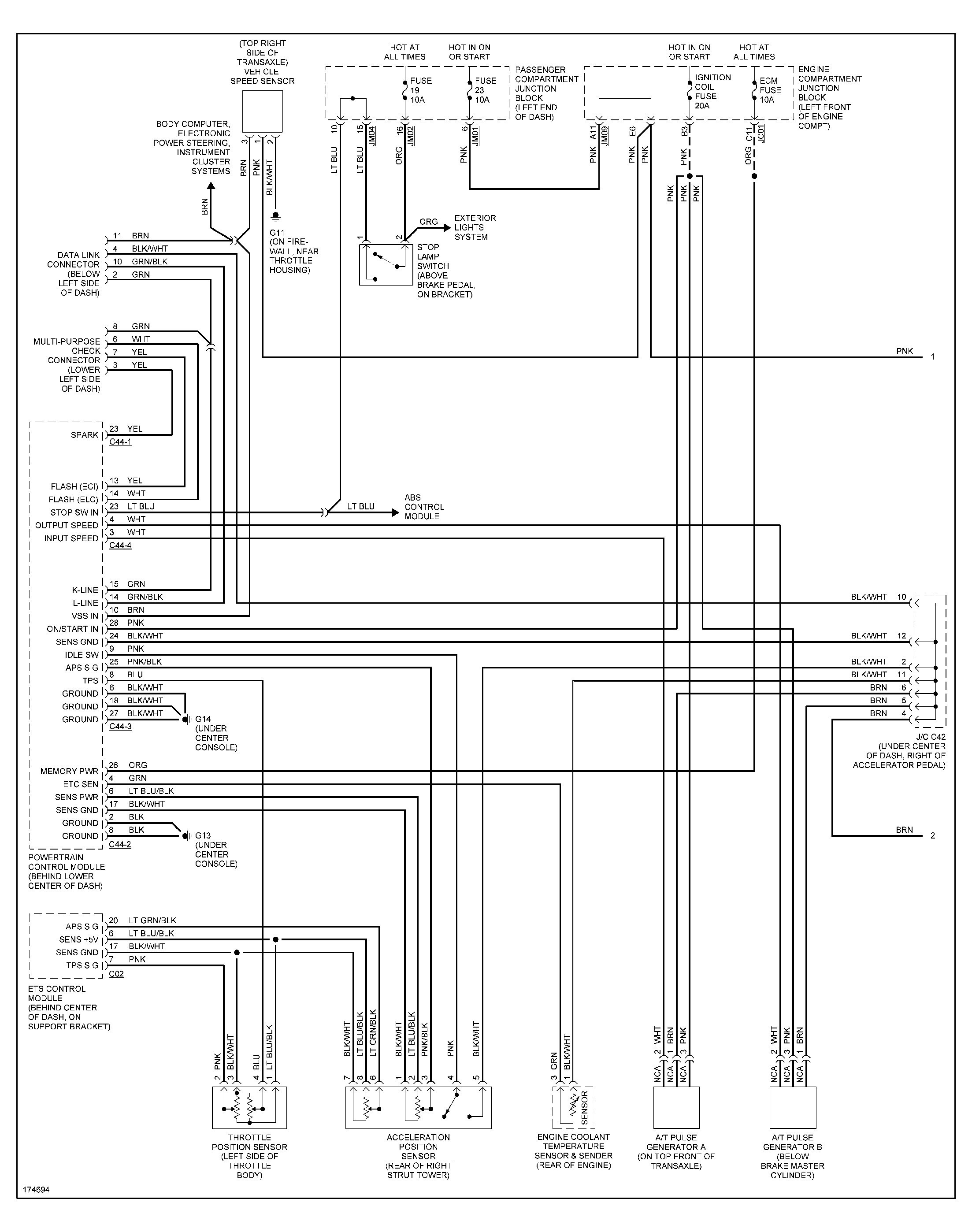 Radio Wiring Diagram For 2001 Hyundai Elantra