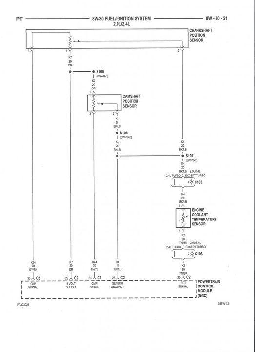 2003 Chrysler Pt Cruiser Wiring Diagram - Wiring Diagram