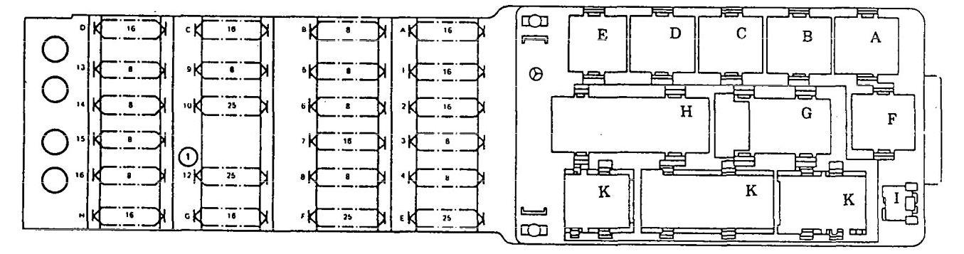 Pleasant Mercedes Benz 300Ce 1990 1991 Wiring Diagrams Fuse Panel Wiring Cloud Faunaidewilluminateatxorg
