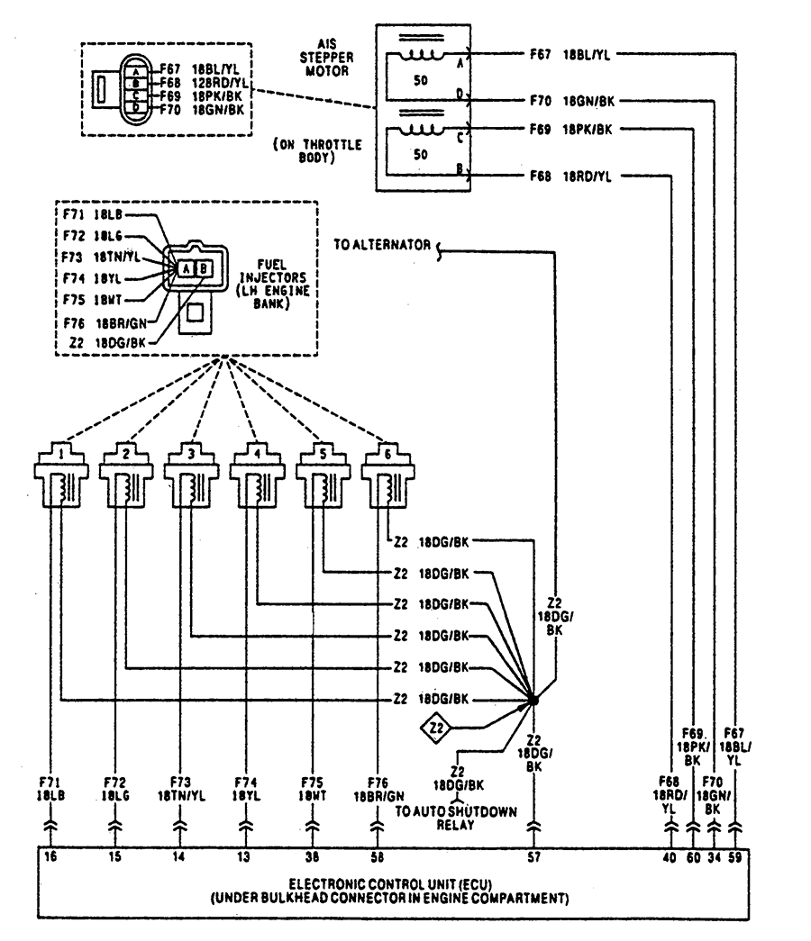 Honda Fuel Injector Wiring Diagram