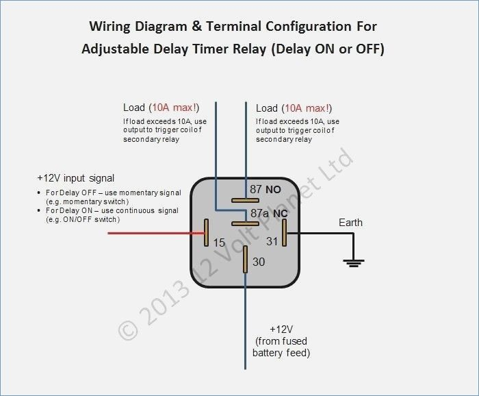 Timed Relay Automotive Wiring Diagram Rca Phone Jack Wiring