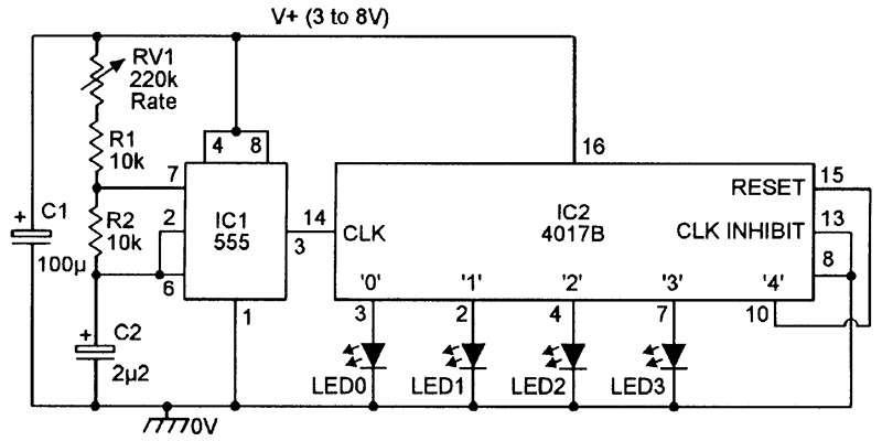 Tremendous Led Chaser Sequencer Circuits Nuts Volts Magazine Wiring Cloud Ymoonsalvmohammedshrineorg