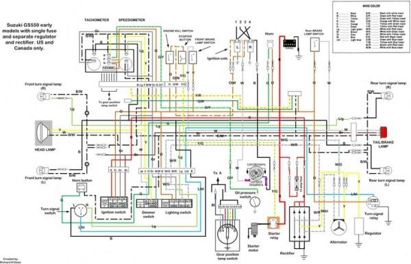 suzuki rv 50 wiring diagram cl 5021  1980 suzuki gs550l wiring diagram 1980 circuit diagrams  1980 suzuki gs550l wiring diagram 1980