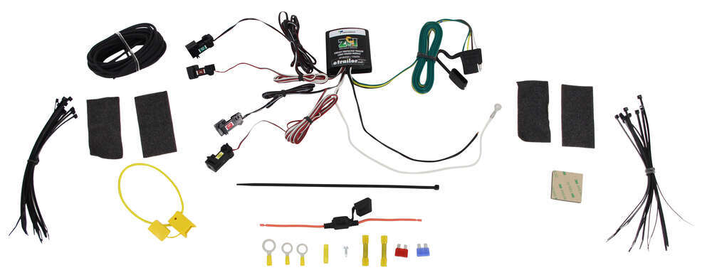 Super Zci Circuit Protected Vehicle Wiring Harness W 4 Pole Flat Trailer Wiring Cloud Filiciilluminateatxorg