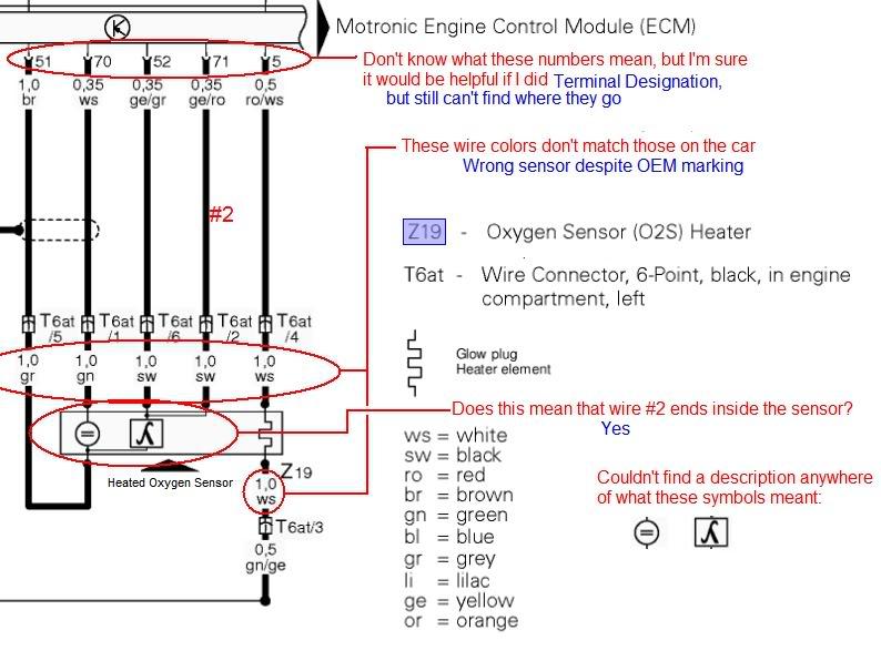 Fo 2735 O2 Sensor Wiring Color Codes Wiring Diagram