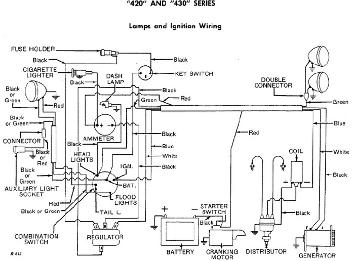 Re 7608  John Deere 3032e Wiring Diagram Wiring Diagram