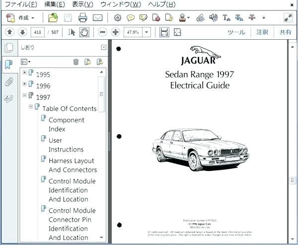 Jaguar X300 Wiring Diagram - Wiring Diagram