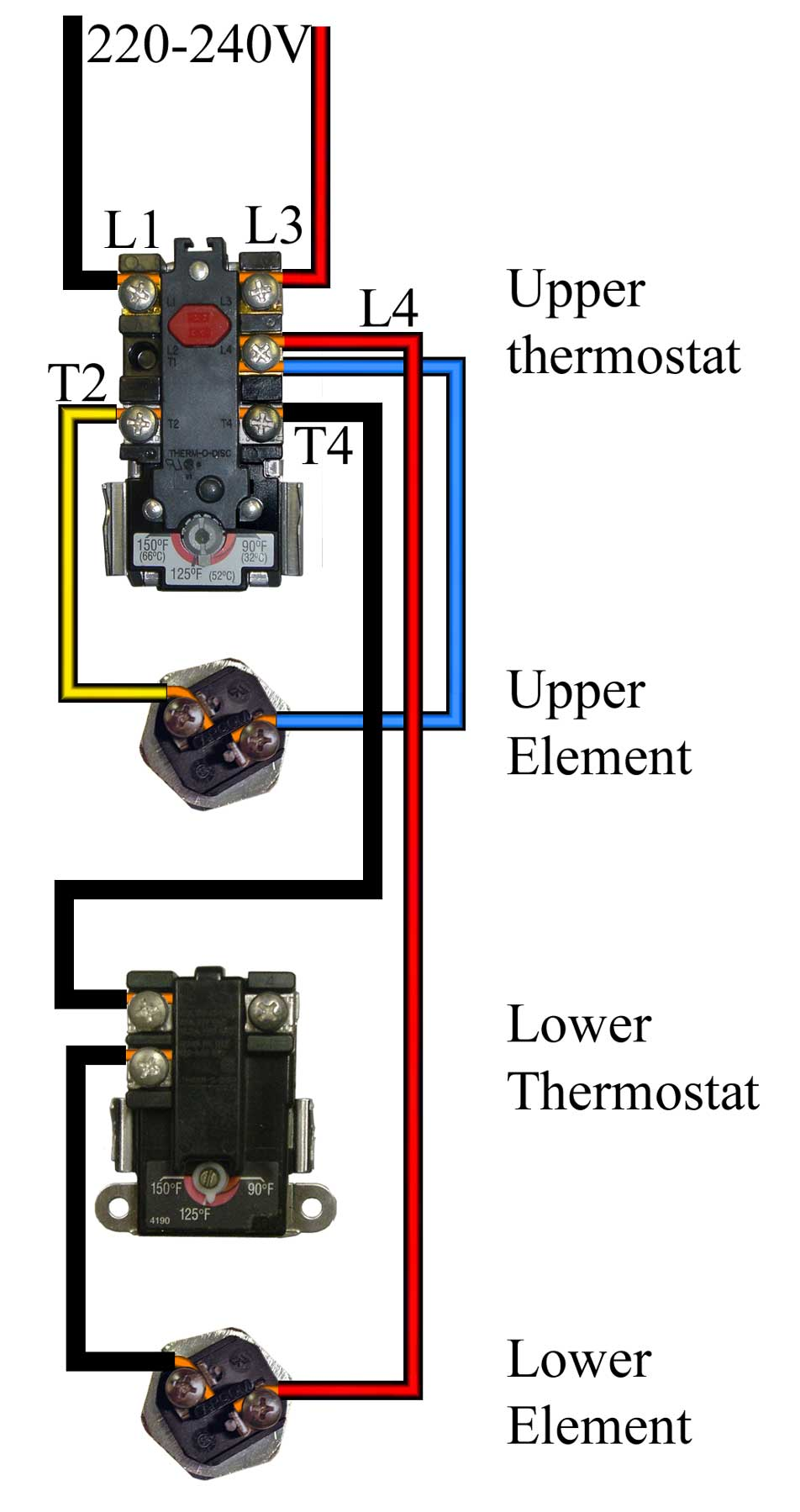 Remarkable How To Wire Water Heater For 120 Volts Wiring Cloud Licukaidewilluminateatxorg