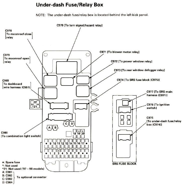 Et 8050 1994 Honda Passport Radio Wiring Diagram Free Diagram