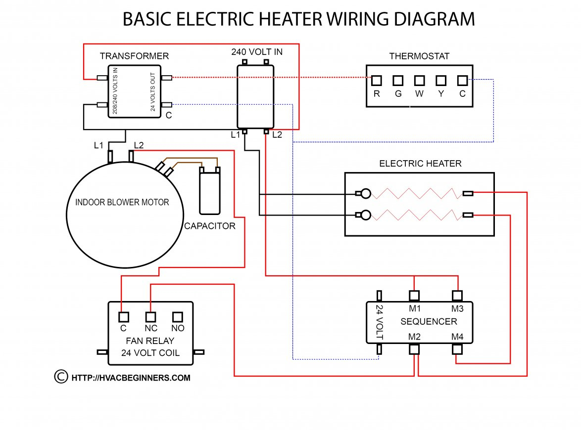 Furnace Fan Relay Wiring Diagram