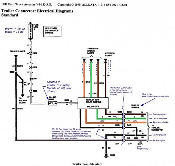 U Haul Wiring Diagram
