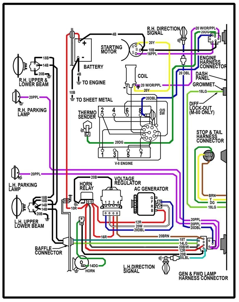 Wiring Diagram 1972 Chevy C10