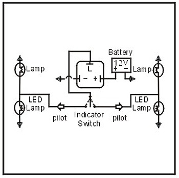 Zt 4628 2 Pin Flasher Relay Wiring Diagram Schematic Wiring