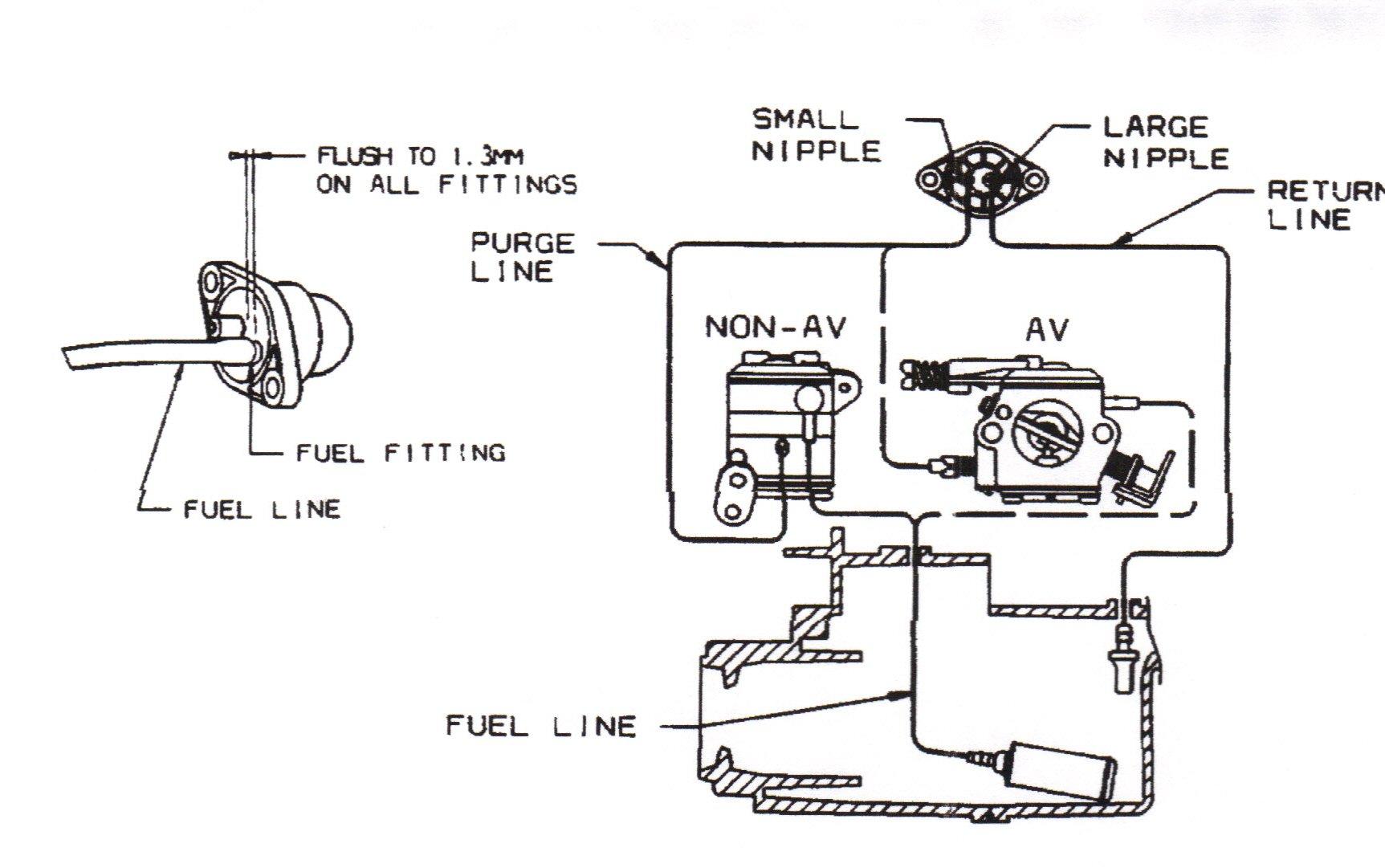 ryobi engine diagram mm 3135  fuel line also stihl chainsaw fuel line diagram on  fuel line also stihl chainsaw fuel line