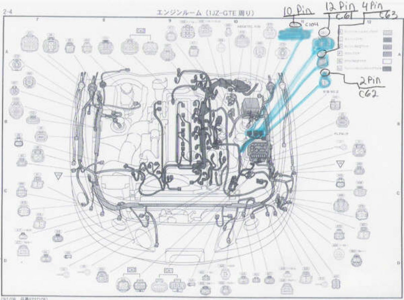 Wire Harness Pinout 1jz -2001 Dodge 3500 Wiring Diagram | Begeboy Wiring  Diagram SourceBegeboy Wiring Diagram Source