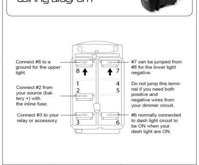 Hb 1126 Led Rocker Switch Wiring Diagram Free Diagram