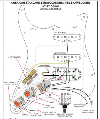 [SCHEMATICS_48IS]  RF_1635] Wiring Fender Stratocaster Wiring Diagram | Fender American Standard Wiring Schematic |  | Spoat Jebrp Proe Hendil Mohammedshrine Librar Wiring 101