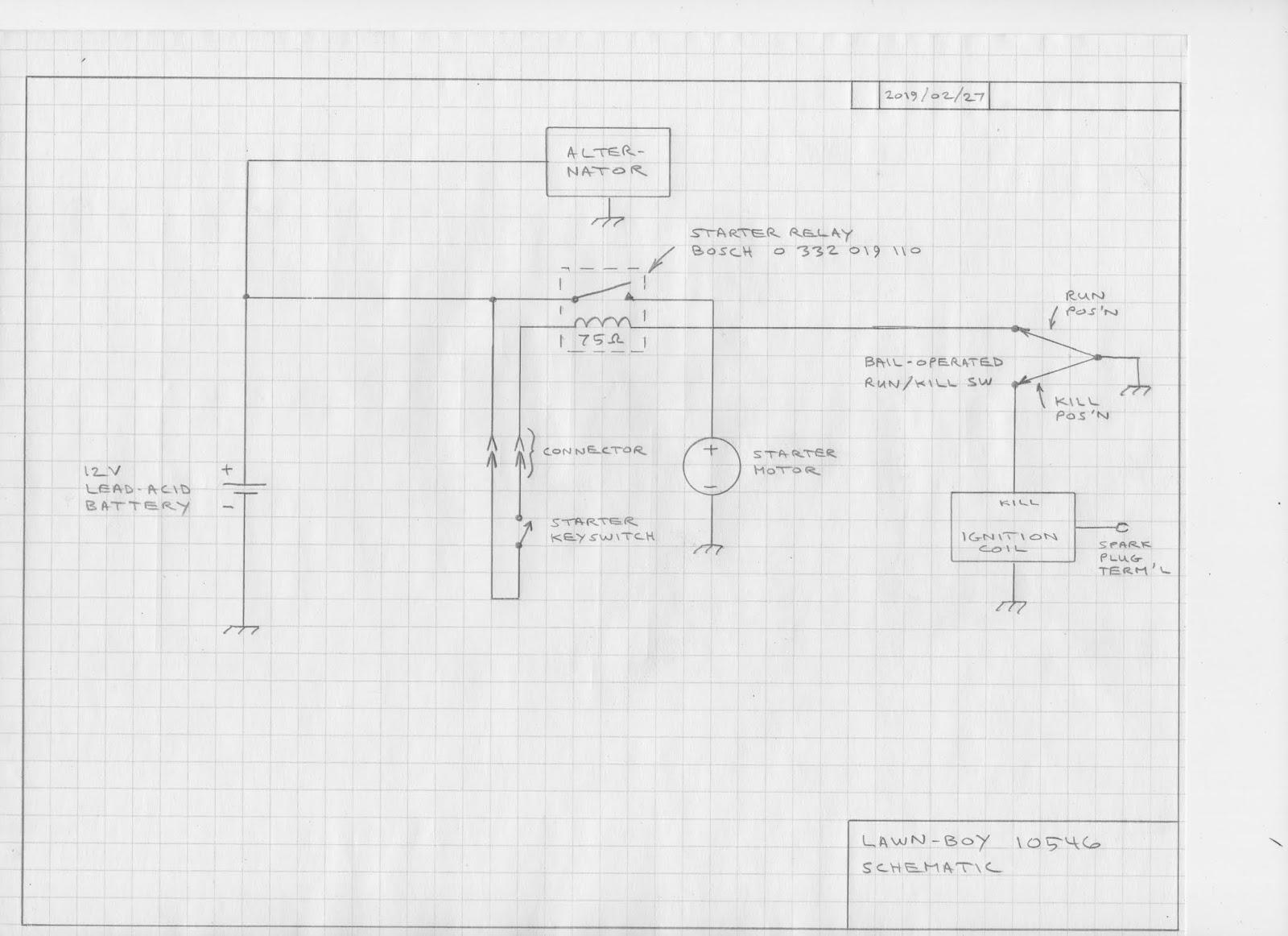 Fk 5382 Lawn Boy Wiring Diagram Schematic Wiring