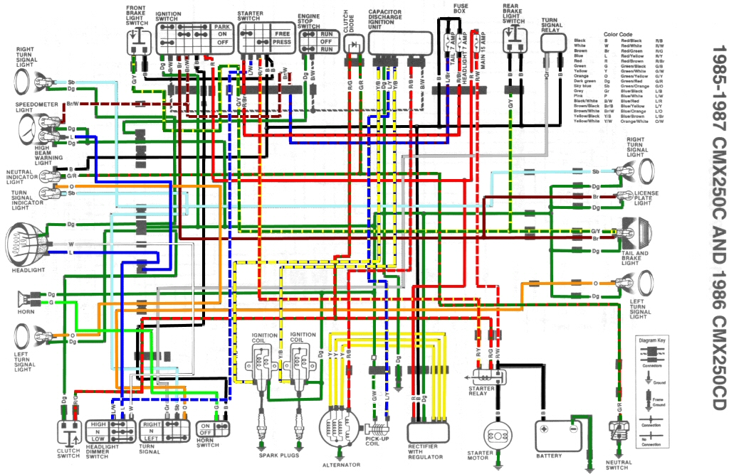 1985 Honda Cr80 Wiring Diagram Heated Grip Wiring Diagrams Harley Davidson Motorcycle For Wiring Diagram Schematics
