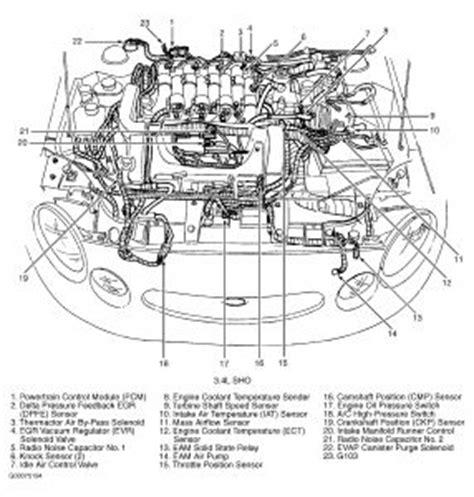 1997 Ford Taurus Engine Diagram Wiring Diagram Put Across Put Across Graniantichiumbri It