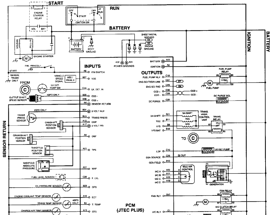 Stereo Wiring Diagram For 98 Dodge Dakota