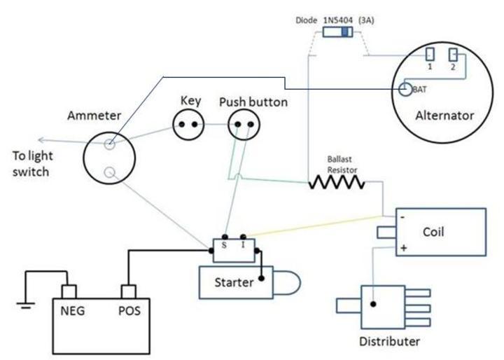 lv7302 allis chalmers tractors wiring diagram schematic wiring