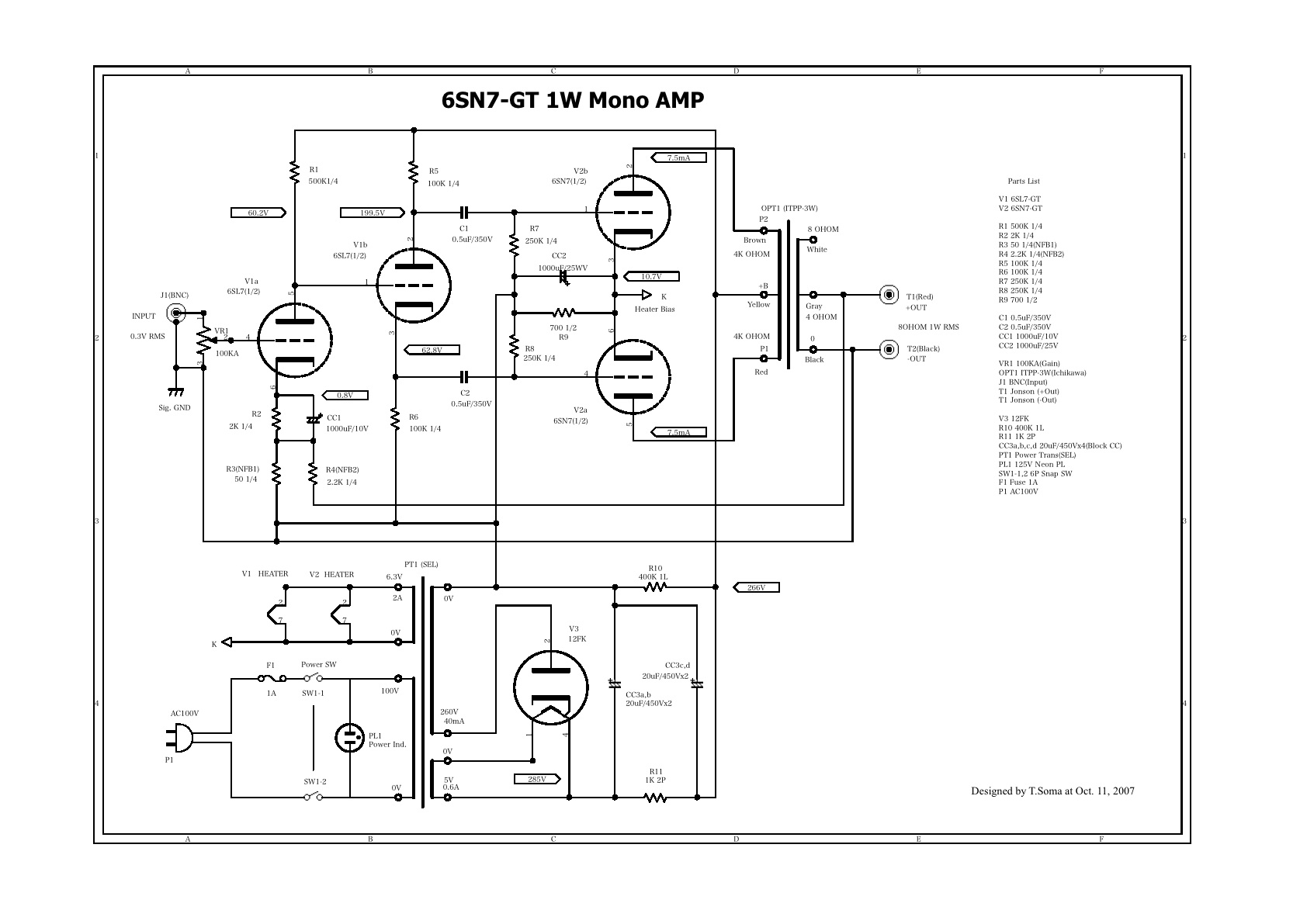 Awesome Looking For 6Sn7 Se Schematics Diyaudio Wiring Cloud Lukepaidewilluminateatxorg