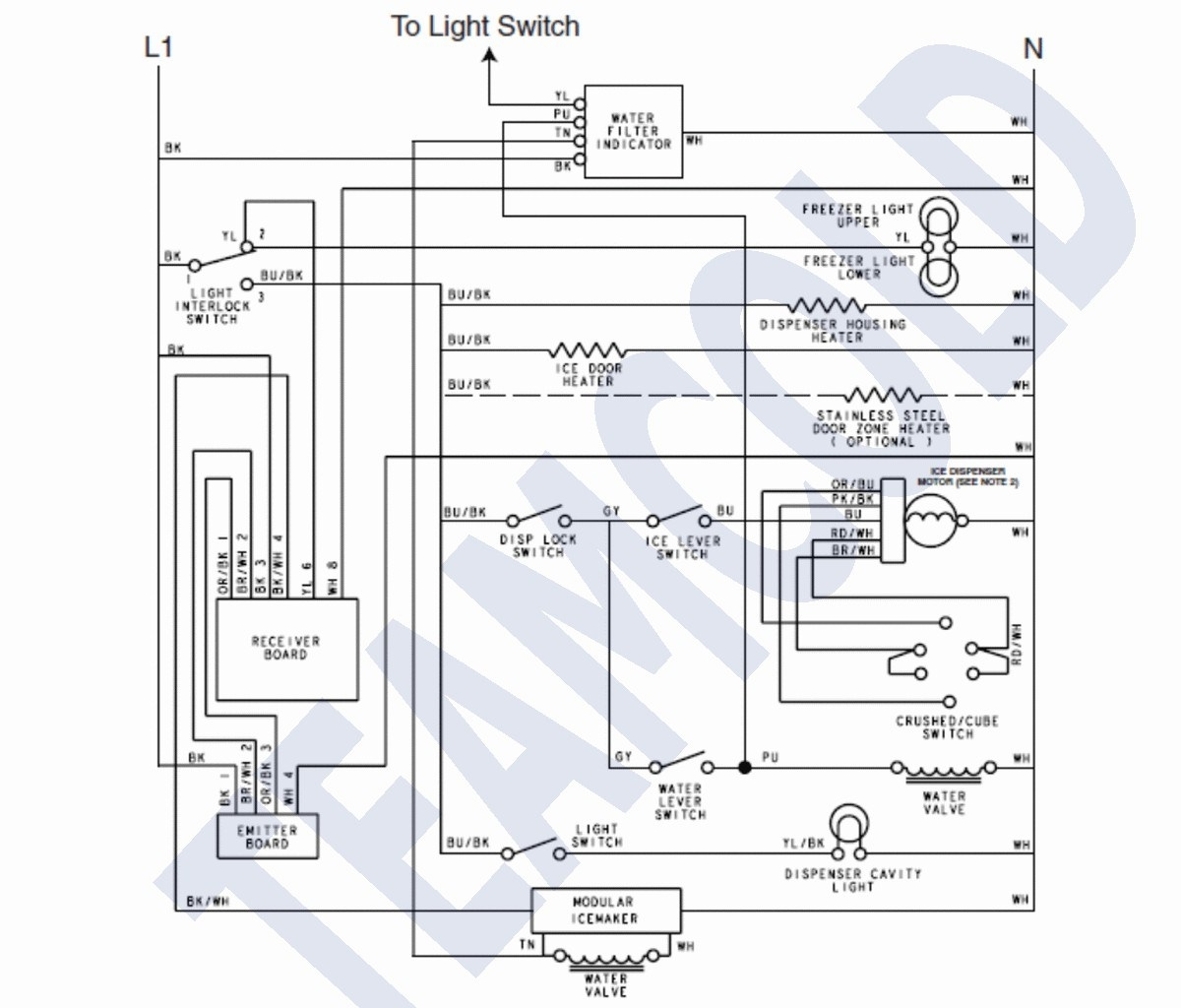 Ice Maker Wiring Schematic - Wiring Diagram pale-activity -  pale-activity.fiocouture.it | Ge Ice Maker Dispenser Wiring Schematic |  | pale-activity.fiocouture.it