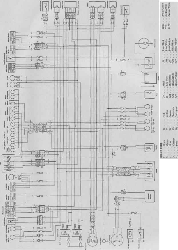 yamaha virago 750 wiring diagram 2013 tundra radio wiring