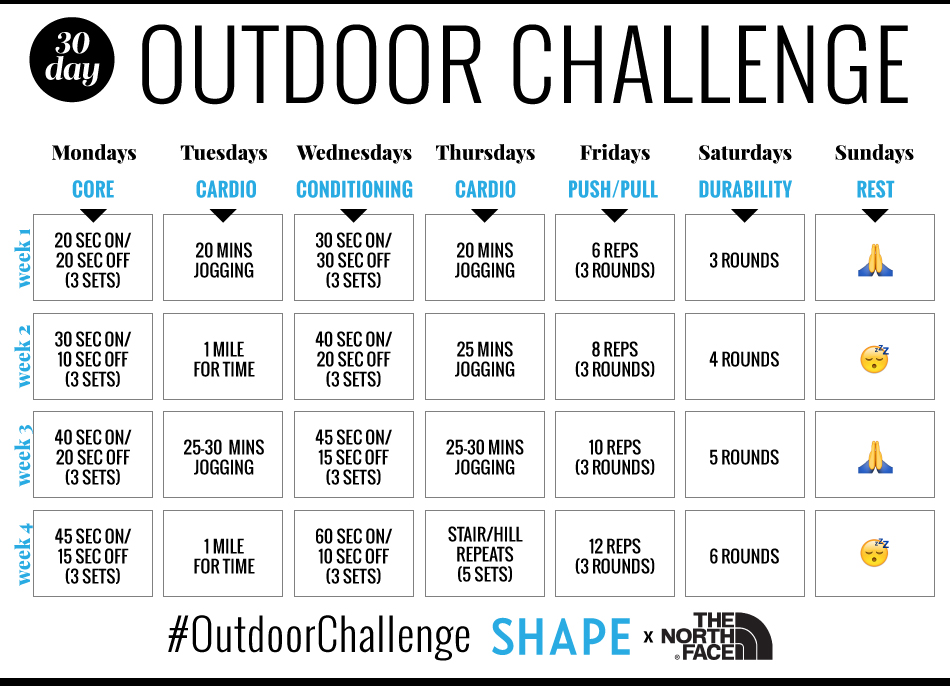 Magnificent This 30 Day Outdoor Circuit Training Challenge Will Amp Up Your Wiring Cloud Ymoonsalvmohammedshrineorg