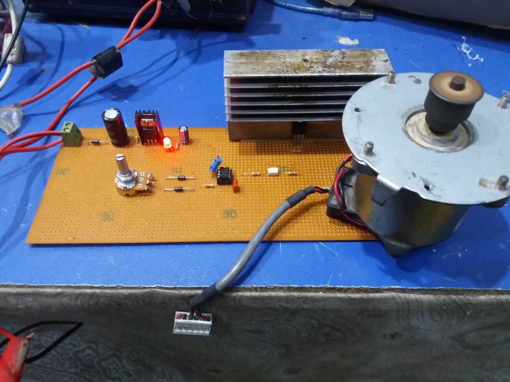 Sensational 12 Volt Dc Motor Speed Controller 4 Steps With Pictures Wiring Cloud Apomsimijknierdonabenoleattemohammedshrineorg