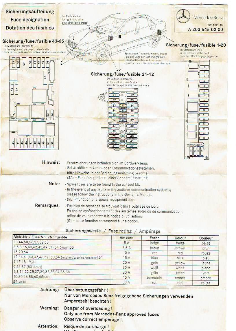 [DIAGRAM_5UK]  Mercedes C240 Fuse Box Mercury Lights Wiring Diagram -  empty.the-damboel-26.florimunt.fr | Benz C240 Fuse Diagram |  | Wiring Diagram and Schematics