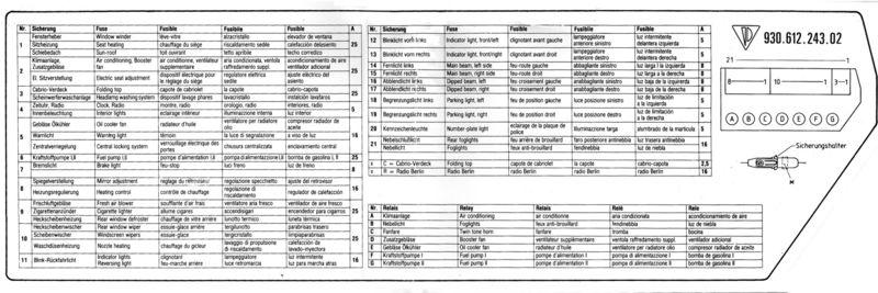 SM_4634] 89 Porsche 911 Carrera Electrical Fuse Box Diagram Download DiagramKnie Dict Vira Mohammedshrine Librar Wiring 101