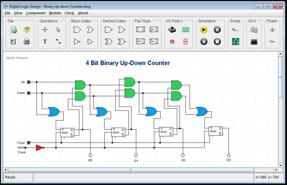 Gx 2417 Logic Circuit Designer Online Download Diagram