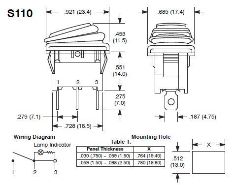 illuminated toggle switch wiring diagram vm 1562  illuminated rocker switch wiring diagram led wiring help  rocker switch wiring diagram led wiring