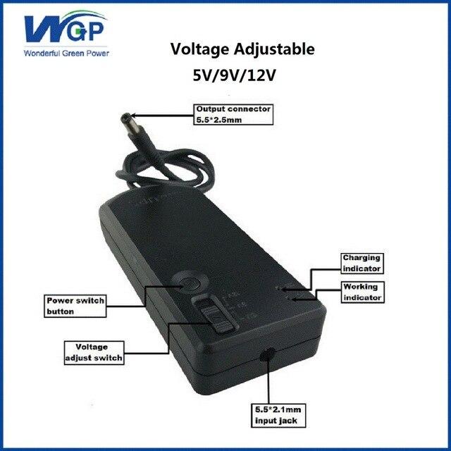 Outstanding 5V 9V 12V Volatge Adjust Mini Dc Ups 18650 Lithium Battery Backup Wiring Cloud Dulfrecoveryedborg
